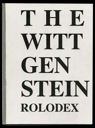 The Wittgenstein Rolodex