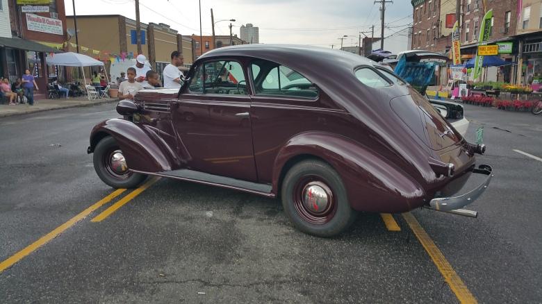 1938 Holdens Chev at Italian Market Philadelphia