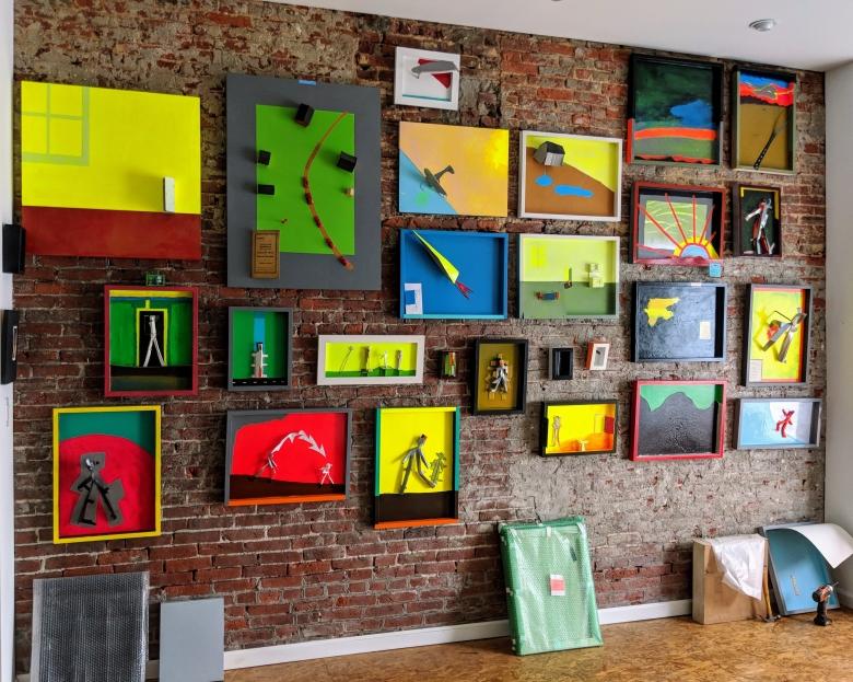 Studio Wall 2017-2018